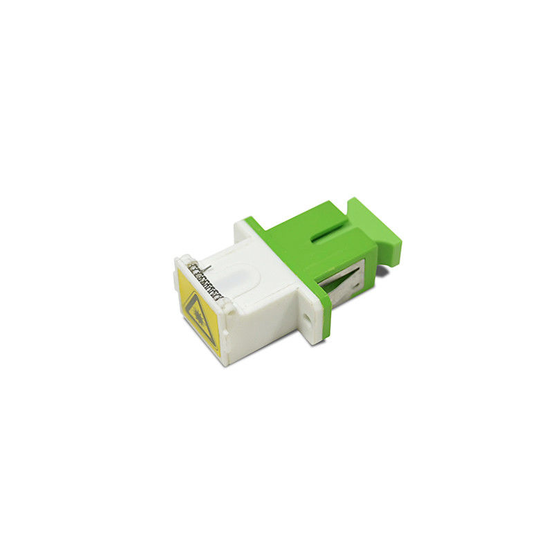 ประเทศจีน Low Insertion Loss SC/APC Shutter Cassette Fiber Optic Adapter ผู้ผลิต