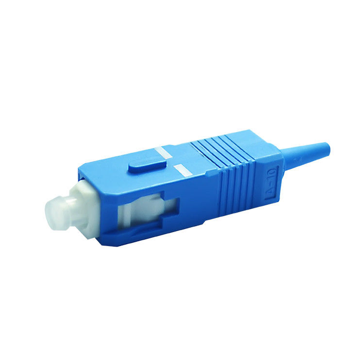 Singlemode 9 / 125 SC / UPC Fiber Optics Connectors Low insertion loss value ผู้ผลิต