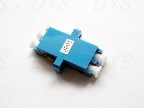 ประเทศจีน Stable LC Duplex Fiber Optical Attenuator Blue / Green / Metal With 1db - 30db Value ผู้ผลิต