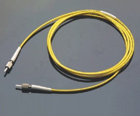 Low Insertion Loss, High Return Loss Yellow DIN Model Connector Optical Fiber Patch Cord ผู้ผลิต